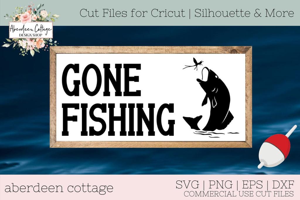 Download Gone Fishing Svg T Shirt Design So Fontsy