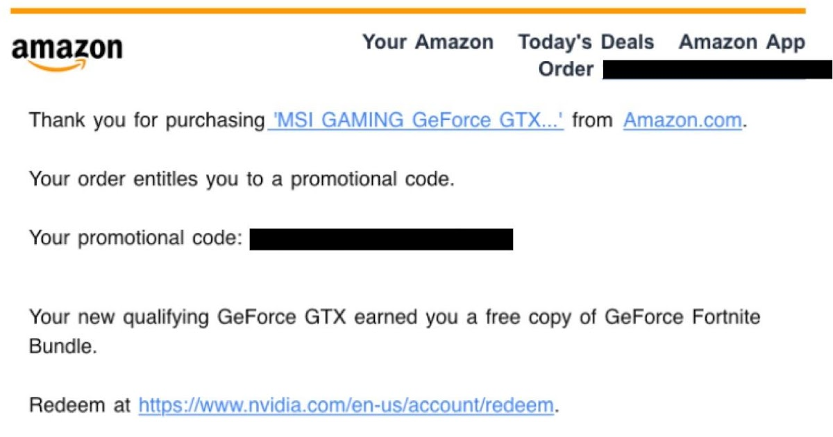Free Nvidia Fortnite Bundle Codes