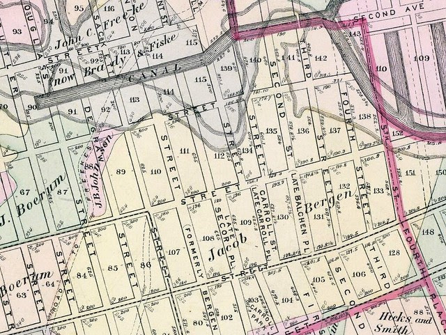 Neighborhood Map 1874
