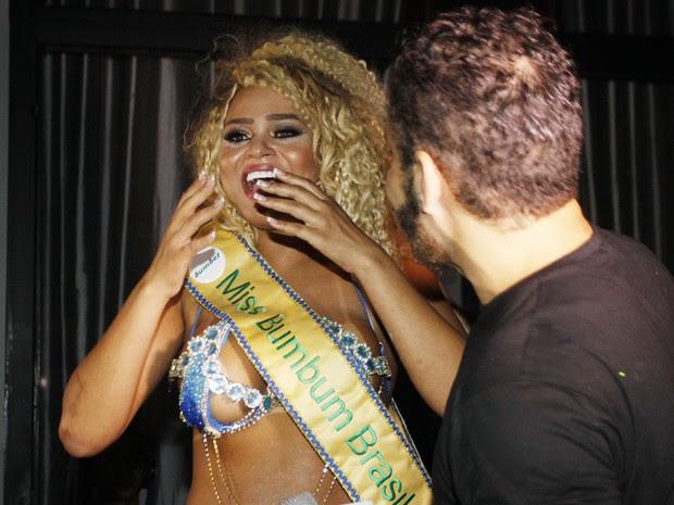 Erika Canela vence o Miss Bumbum 2016 em São Paulo (Foto: Celso Tavares/ EGO)