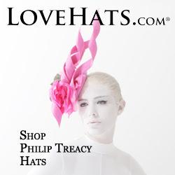 PHILIP TREACY HATS at LOVEHATS.COM