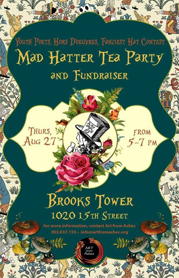Mad Hatter Tea Party Art From Ashes