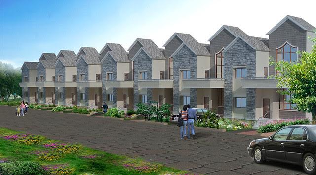 Row Houses in Dajikaka Gadgil Developers' AnantSrishti Kanhe - Gated community of N A Bungalow Plots & 1 BHK 2 BHK 2.5 BHK Flats