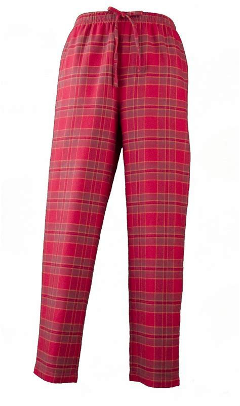 Womens Red Plaid Flannel Pajamas   Family Clothes