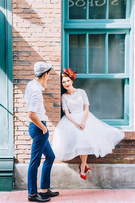 25  best ideas about Retro wedding dresses on Pinterest