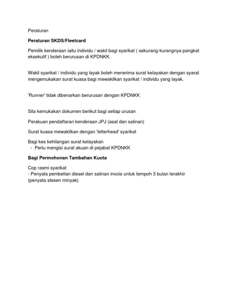 Contoh Surat Wakil Kuasa Jpj Contoh Surat