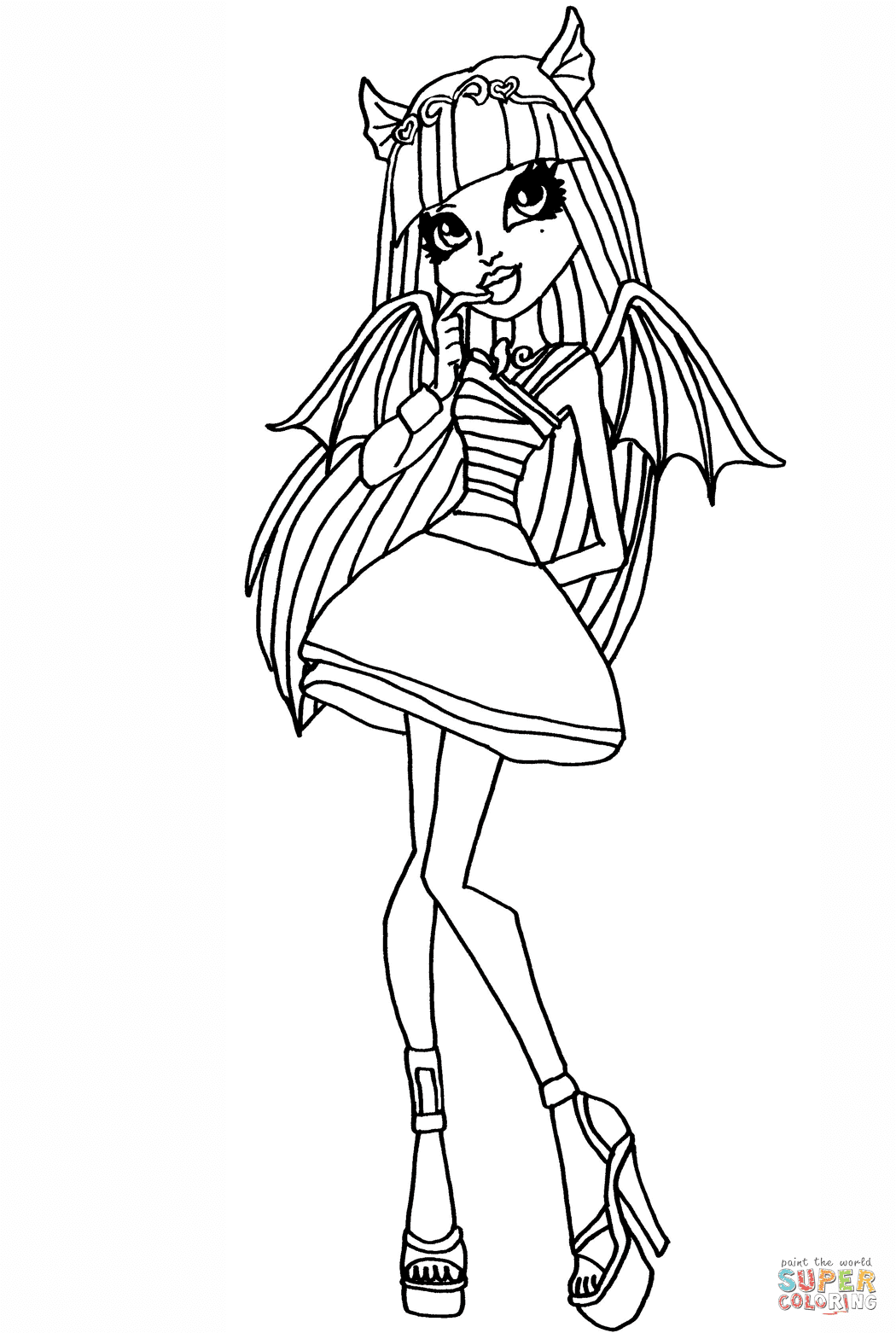 the Monster High Rochelle