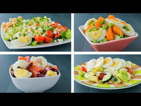 4 Boiled Egg Recipes For Weight Loss