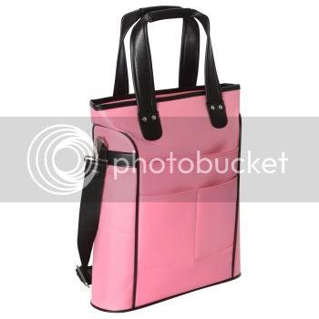 Pink lap top bag