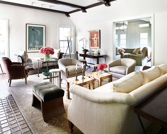Spanish Colonial House With Calm Palette Traditional Home