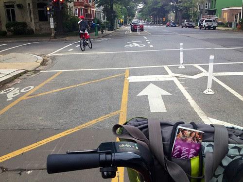 bike lane divided.