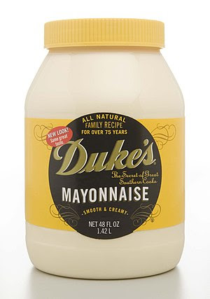 English: 48-ounce (1.42 l) jar of Duke's Mayon...