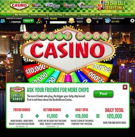 Slot freebies double down casino