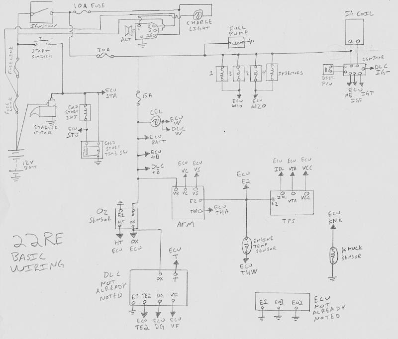 1991 Toyota Pickup 22re Wiring Diagram 1968 Mustang Fuse Diagram Bege Wiring Diagram