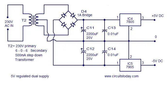 power supply for f to V converter