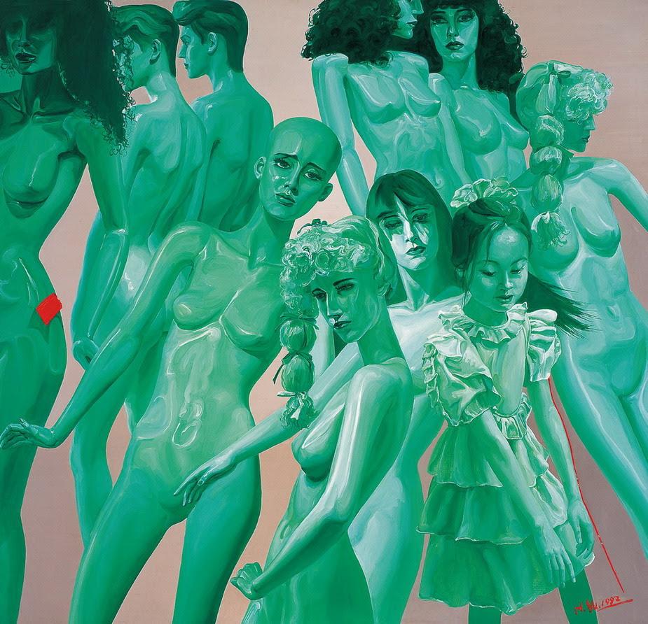 Yu Hong, Colorful world