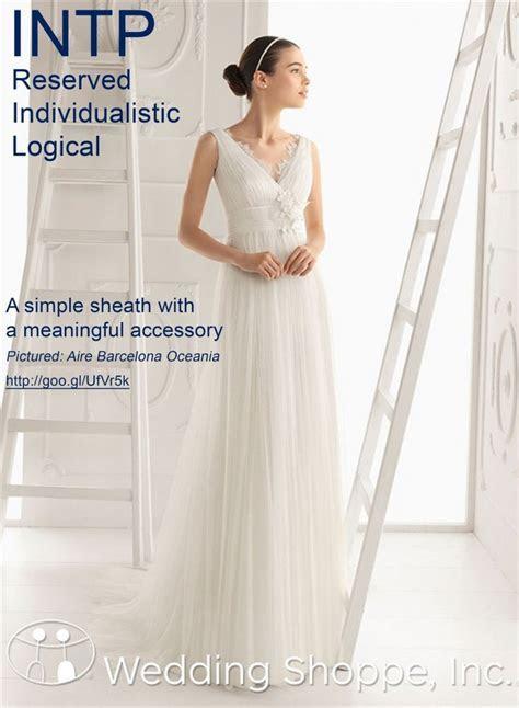 Wedding Style: Wedding Dress Shopping by Myers Briggs