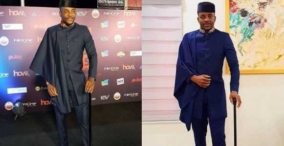 Abuka at it again!! Check Out Ebuka's Lovely Outfit To The Premiere Of Kemi Adetiba's New Movie