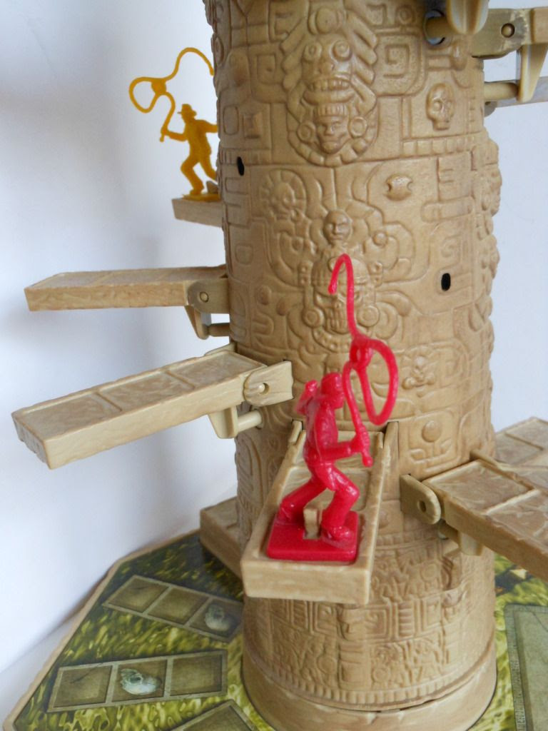Indiana Jones Akator Temple Race Game in play