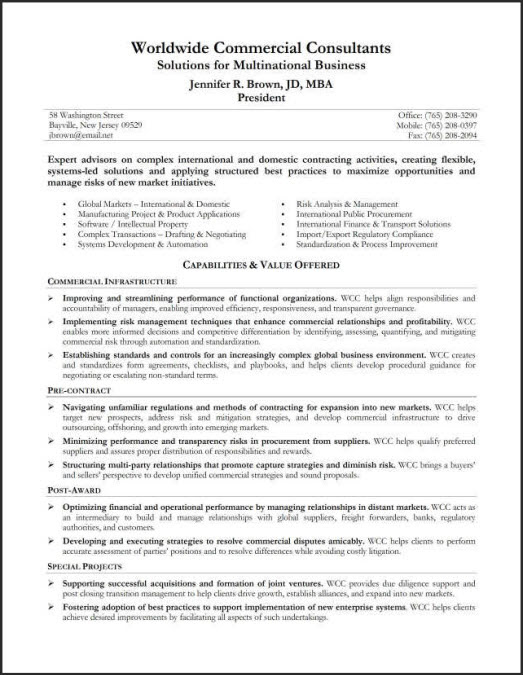 9 Professional Summary Examples  SampleBusinessResume.com : SampleBusinessResume.com