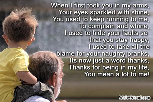 Poems For Grandson