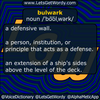 bulwark 08/01/2016 GFX Definition