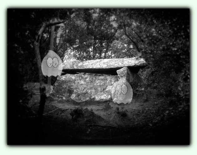 Dolmen i fantasmes