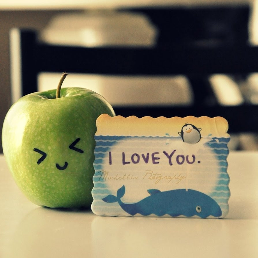 Apple Cute Love You