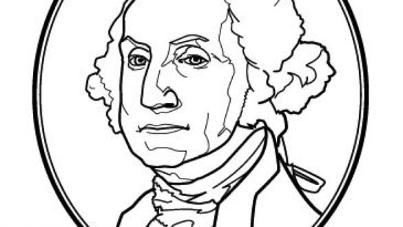 32 Coloring Pages Of George Washington - Free Printable ...