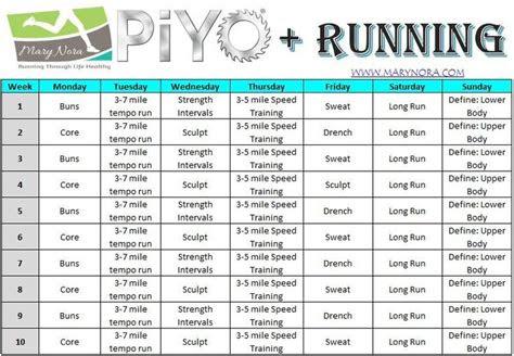 images  piyo  pinterest workout schedule