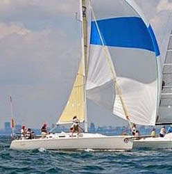 J/109 sailing Lake Ontario