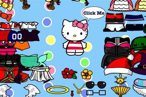 Hello Kitty Dress Up Game   Hello Kitty games   Games Loon