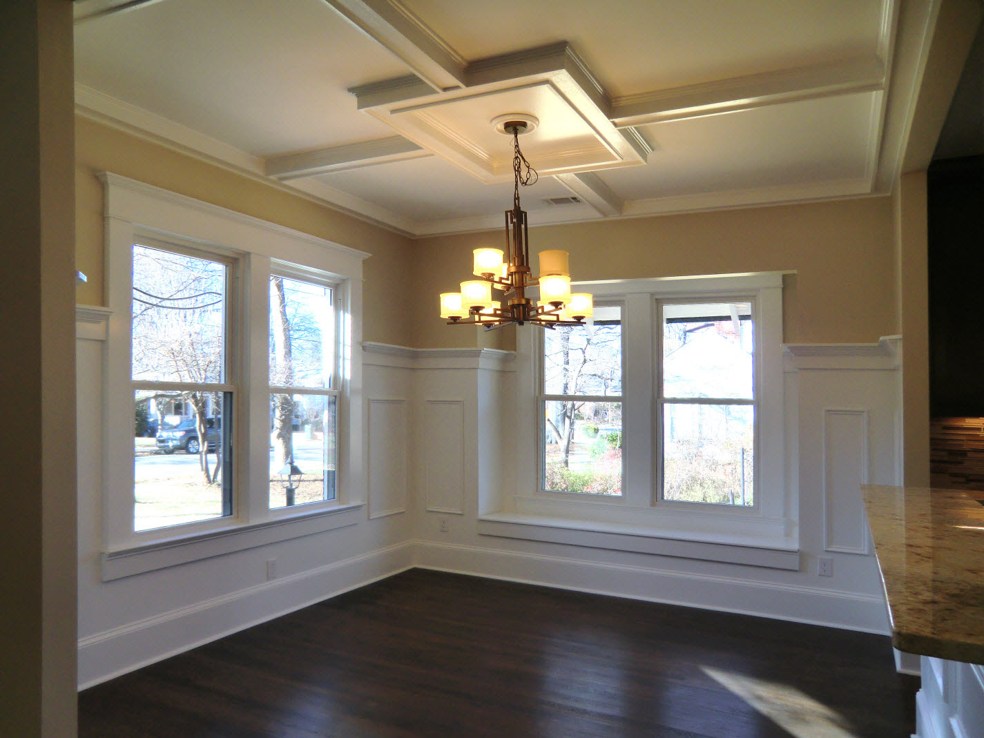 Dining Room with coffered copy