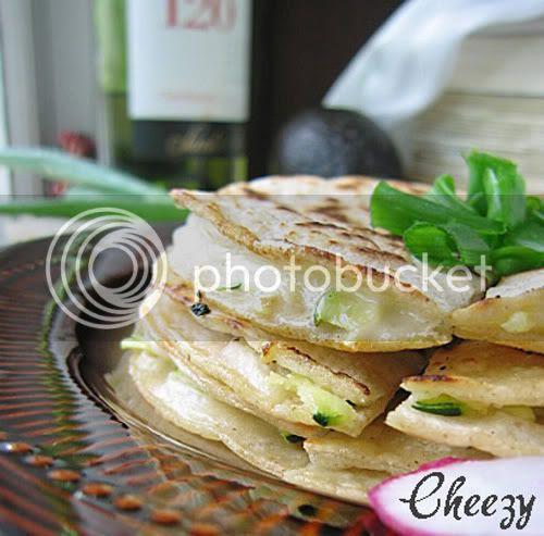 Cheezy Tortillas