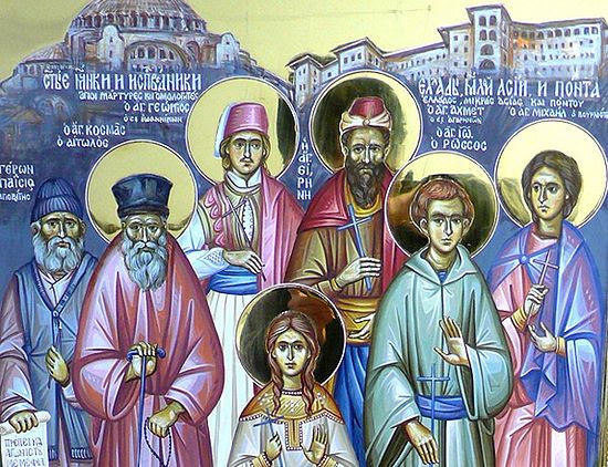 New Martyrs of the Turkish Yoke.