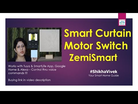 Smart Wall Switch for Blinds & Curtains | ZemiSmart