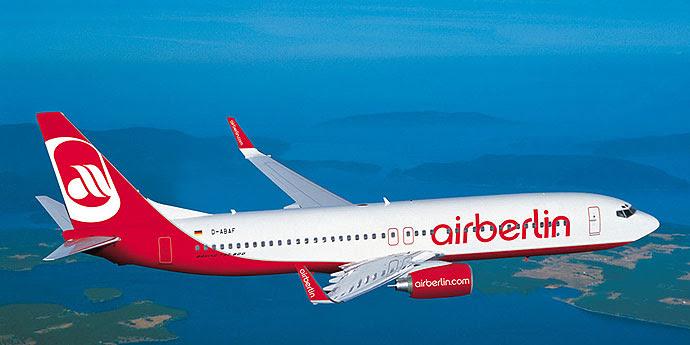 Anreise Azoren Air-Berlin