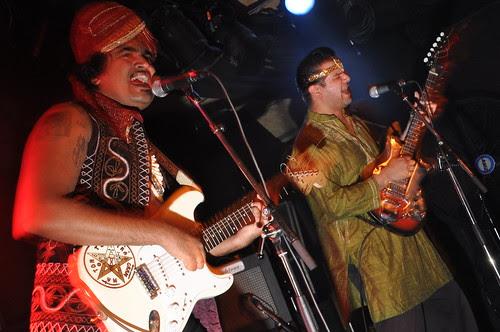 Tandoori Knights at Zaphod Beeblebrox