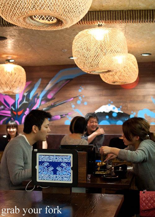 diners inside yebisu izakaya, regent place sydney