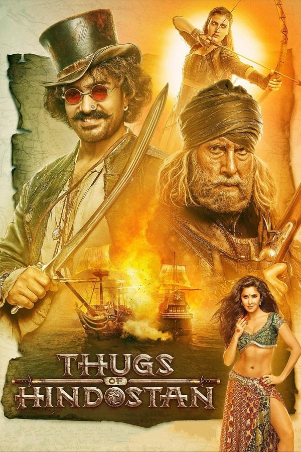 Thugs of Hindostan (2018) Hindi 1080p.AMZN-DL H264 DDP.5.1 MSUBS ~TeamTelly Exclusive