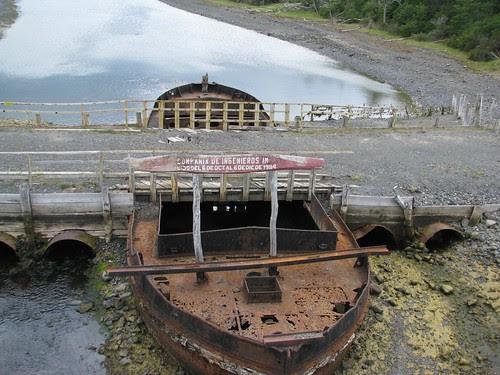 PW boat bridge