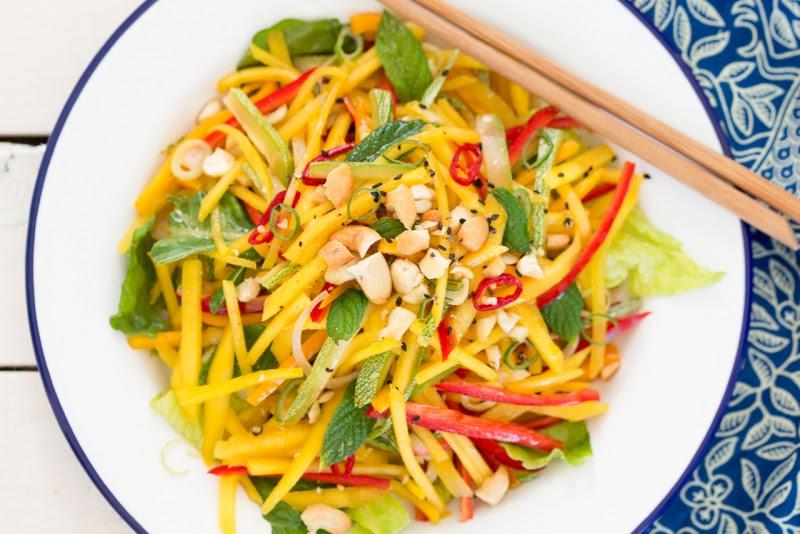 Resepi mudah Kerabu Mangga Ala Thai.