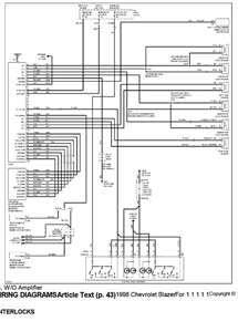 1997 Chevy Blazer Fuse Box Diagram - Chevy Diagram
