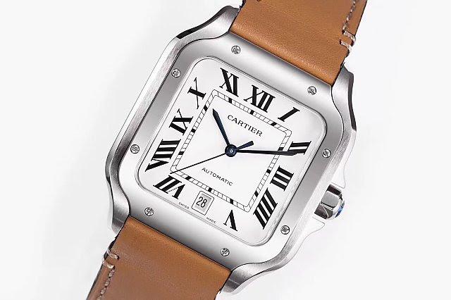 Cartier Santos 100 WSSA0009 White Dial