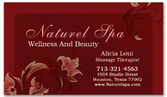 BCS-1049 - salon business card