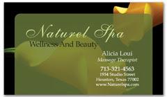 BCS-1050 - salon business card