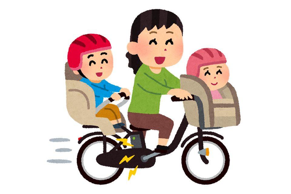 イラストで勉強子乗せ自転車何が良くて何がだめ抱っこ紐は 南