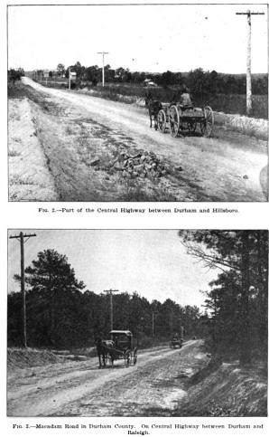 Central Hwy between Durham and Hillsboro