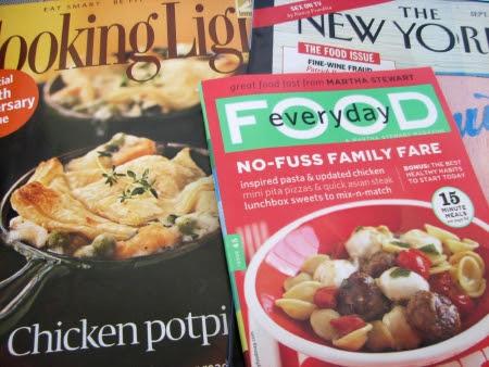 September Food Magazines