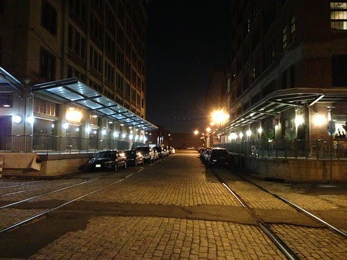 Downtown JC, at night
